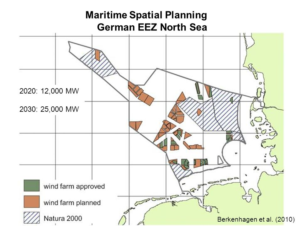 Maritime Spatial Planning German EEZ North Sea Berkenhagen et al.