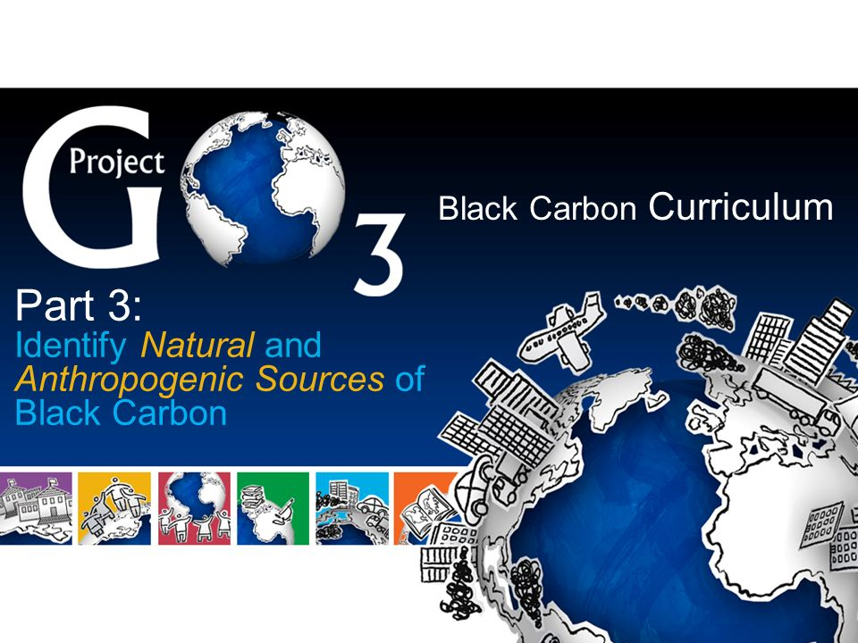 Black Carbon Curriculum Part 3: Identify Natural and Anthropogenic Sources of Black Carbon