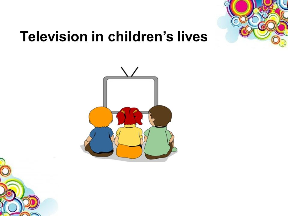 Television in childrens lives