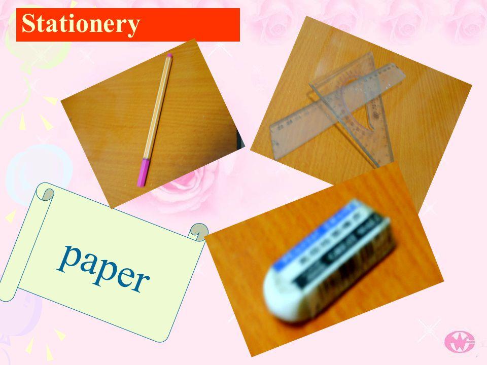 Stationery p a p e r
