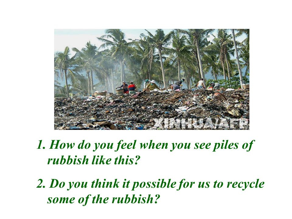 Picture talking 1. What kind of pollution does this picture show? 2. Do you prefer to live with a factory nearby? Why?