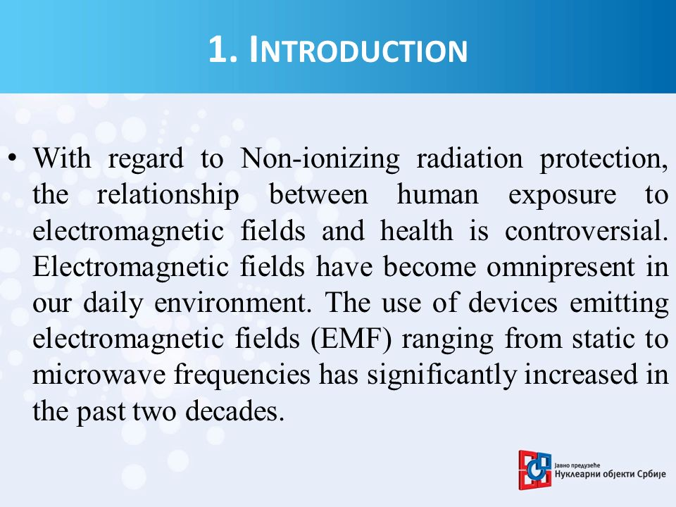 Electromagnetic Spectrum Ionizing Radiations 5 keV 12,4 eV ELF RF Non - Ionizing Radiations