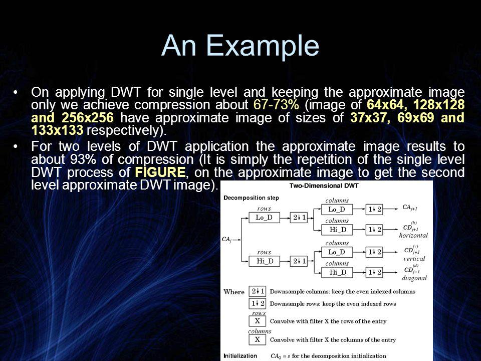 3.Discrete Cosine Transform (DCT) The 2 dimensional DCT of a discrete image block of 8x8 P(i,j), is defined as F[i,j] where x, y, i and j all vary from 0 to 7