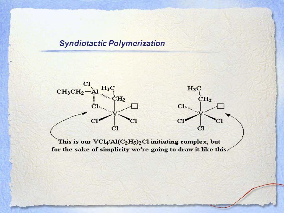 Syndiotactic Polymerization