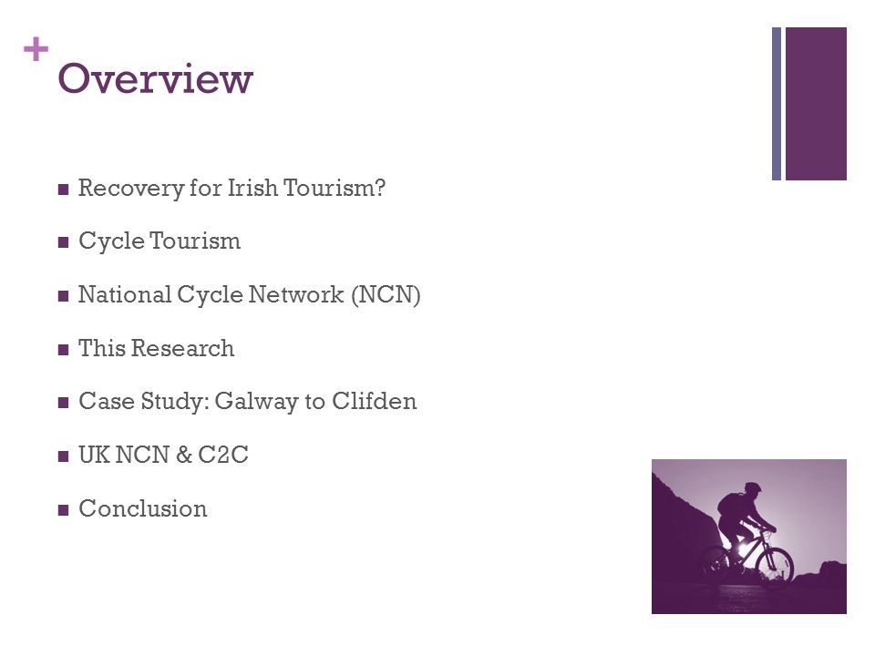 + Overview Recovery for Irish Tourism.
