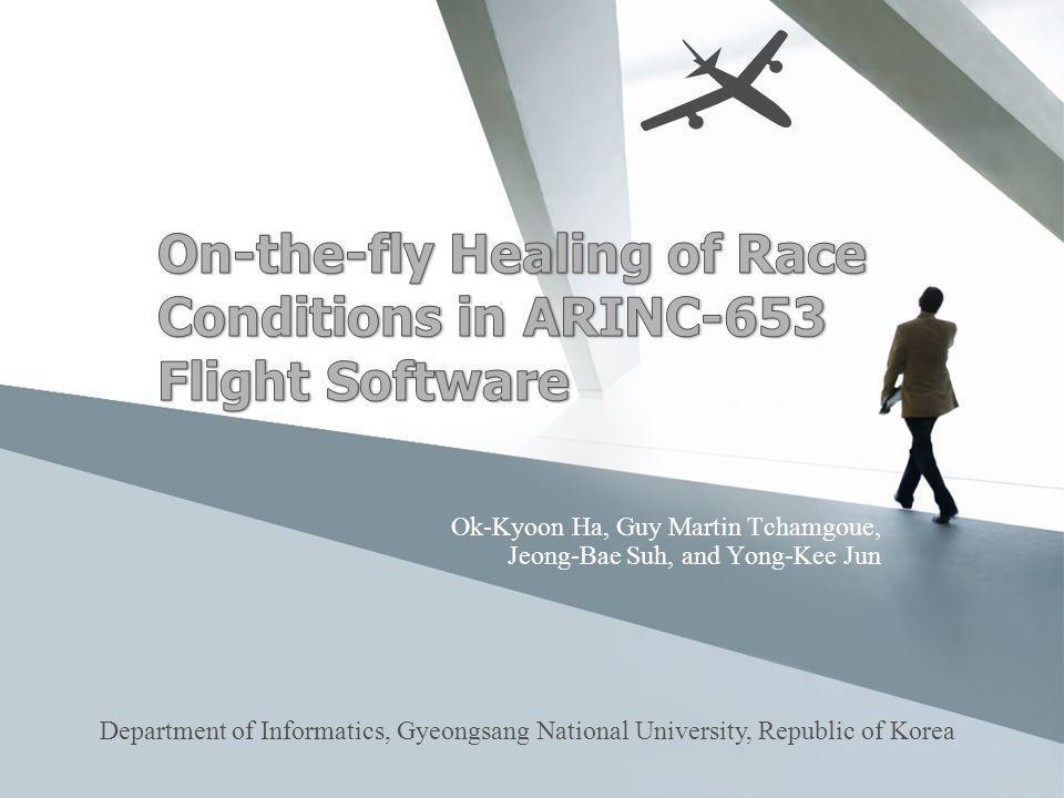 Contents ARINC-653 ARINC-653 Health Management Data Races On-the-fly Race Healing Framework Race Healing Mechanism Development Evaluation Conclusion