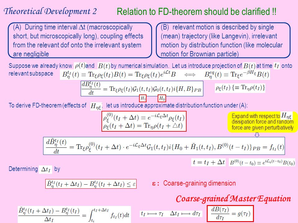 Conclusion From Nuclear Physics, Chemical Reaction to Biological Dynamics A.