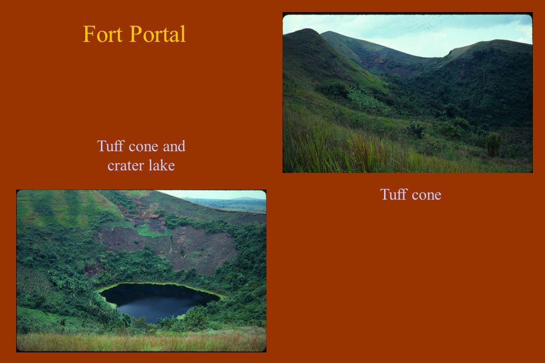 Fort Portal Quarry - flaggy tuff Lapilli-tuff Ash-tuff