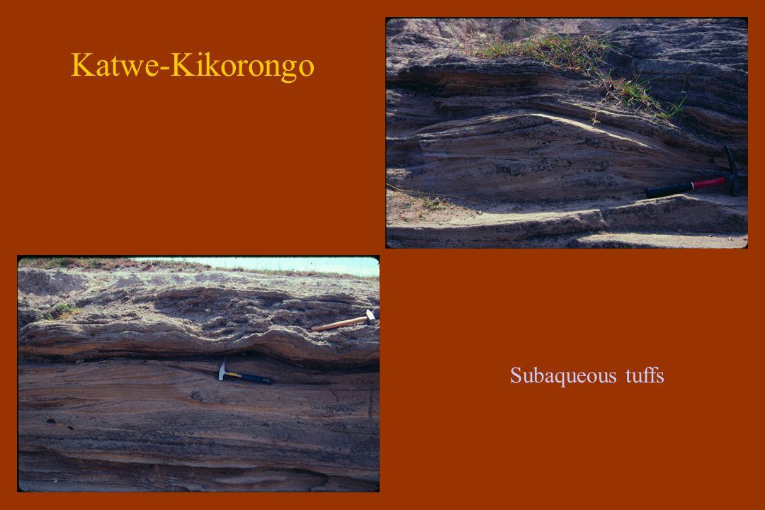 Bufumbira Mgahinga and Sabinio volcanoes Trachyte plug