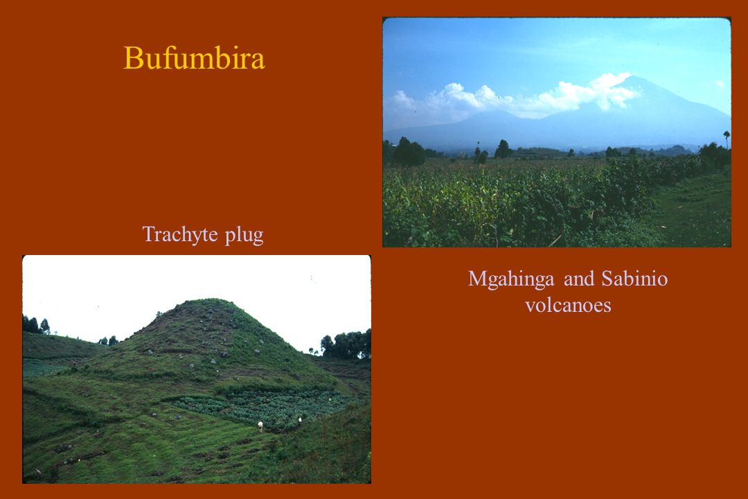 Bufumbira Lapilli tephra Leucite basalt