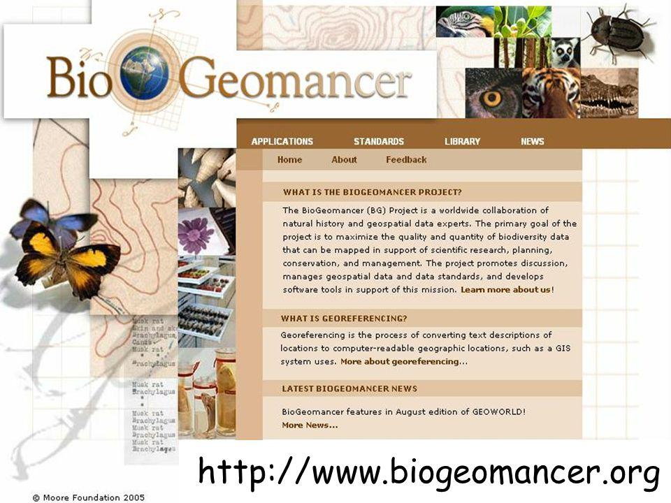 http://www.biogeomancer.org