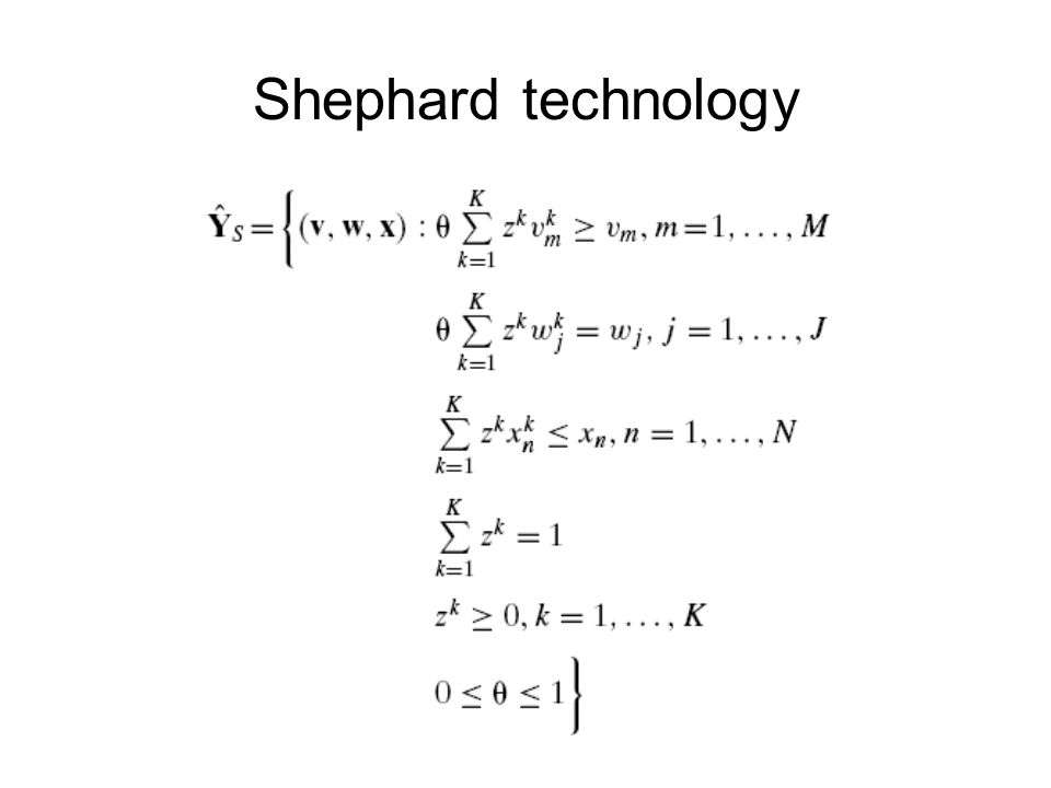 Shephard technology