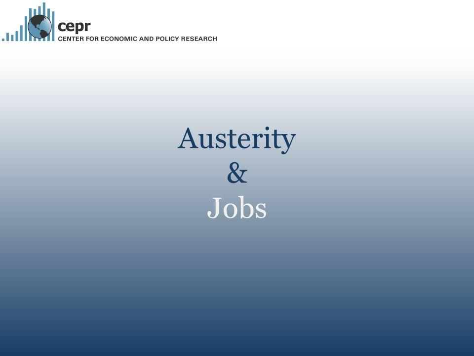 Austerity & Jobs