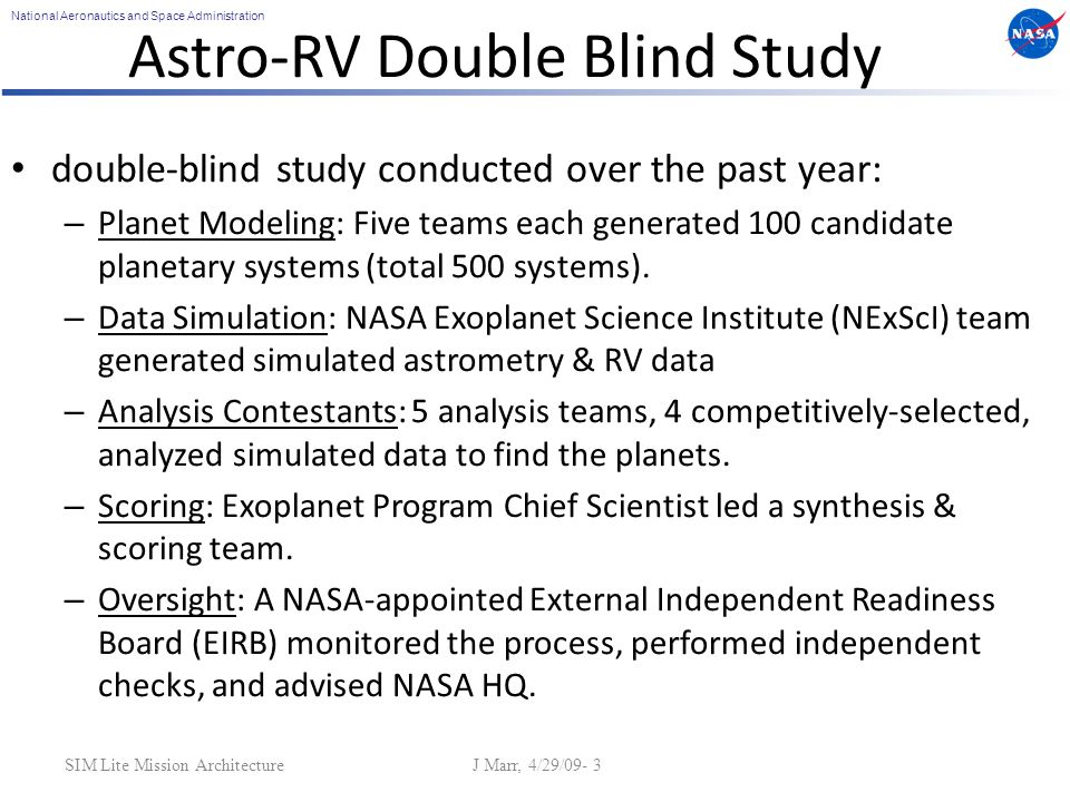 National Aeronautics and Space Administration Inclination Errors Assessment of Phase II Double-Blind Test14