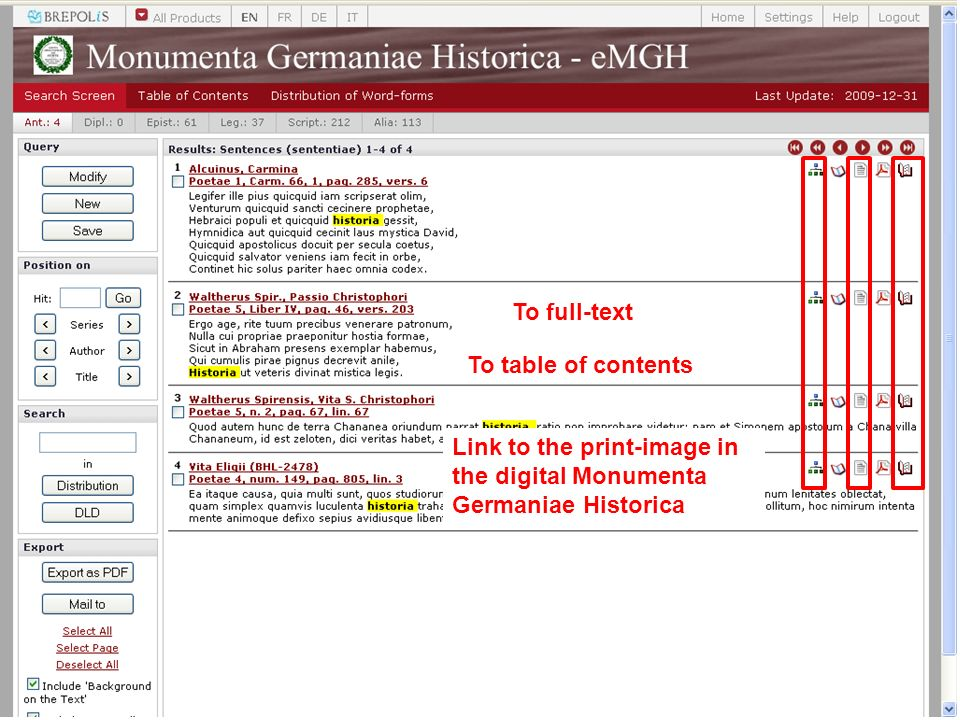 To table of contents To full-text Link to the print-image in the digital Monumenta Germaniae Historica