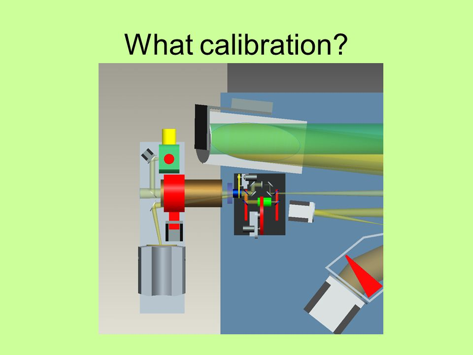 What calibration