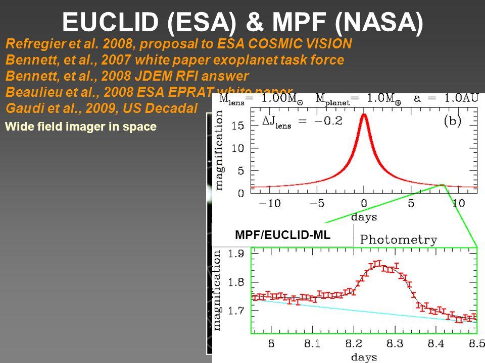 EUCLID (ESA) & MPF (NASA) Refregier et al.
