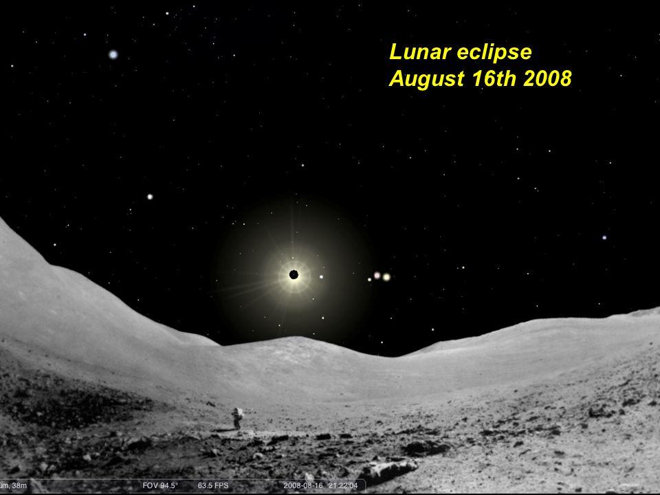 Lunar eclipse August 16th 2008