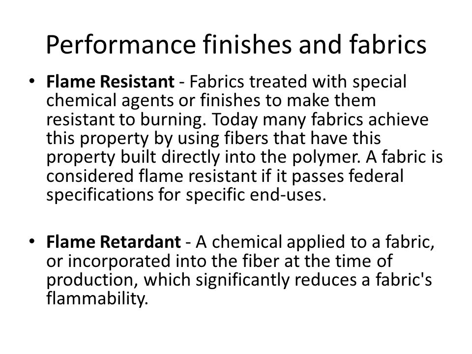 Performance finishes and fabrics Geotextiles - Manufactured fiber materials made into a variety of fabric constructions, and used in a variety civil engineering applications.