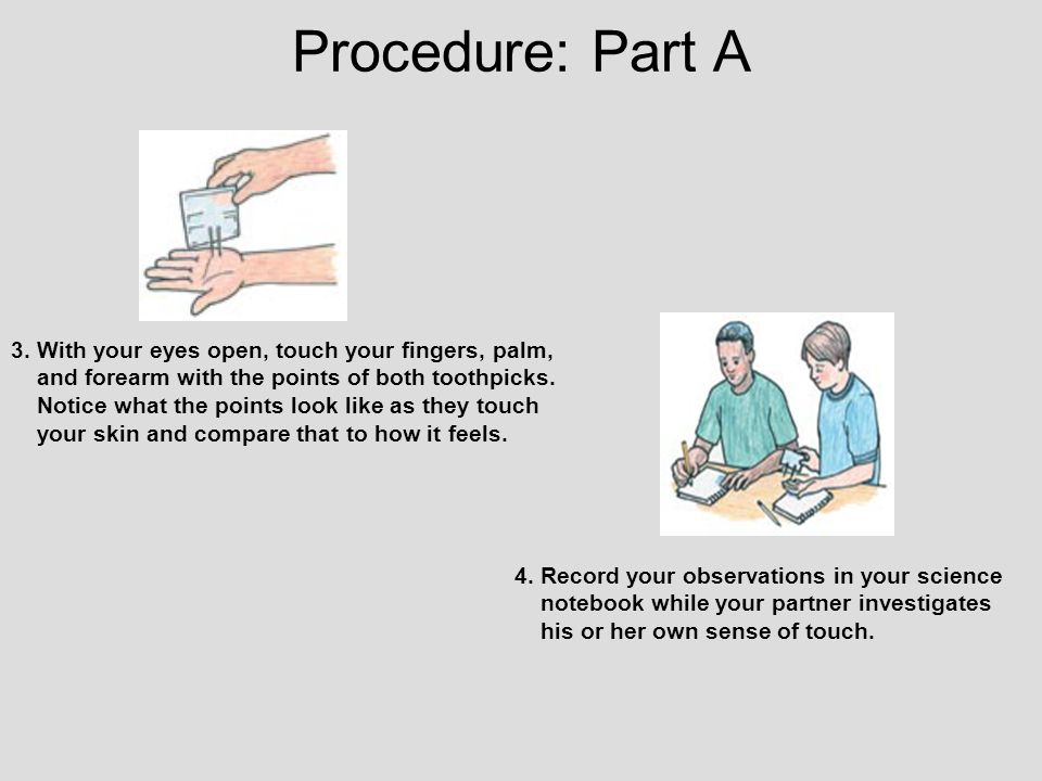 Procedure: Part A 3.