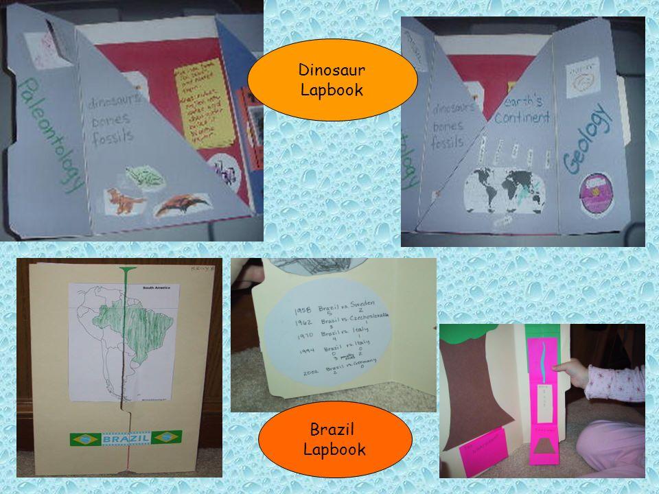 Dinosaur Lapbook Brazil Lapbook