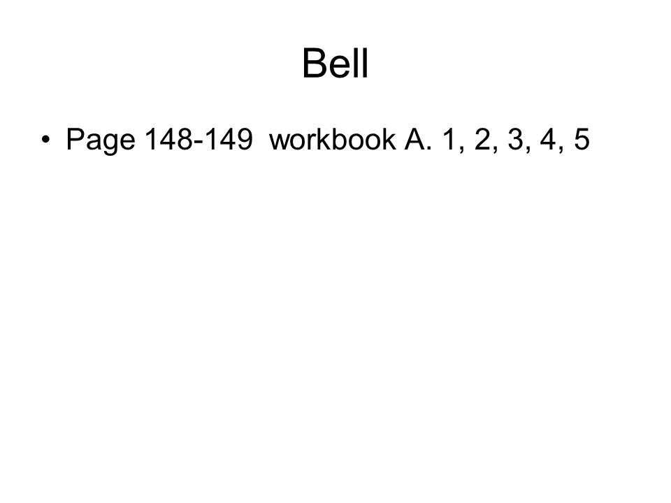 Bell Complete b from page 153-154…I Am the Red Blood Cell This has been copied and is in your packets!