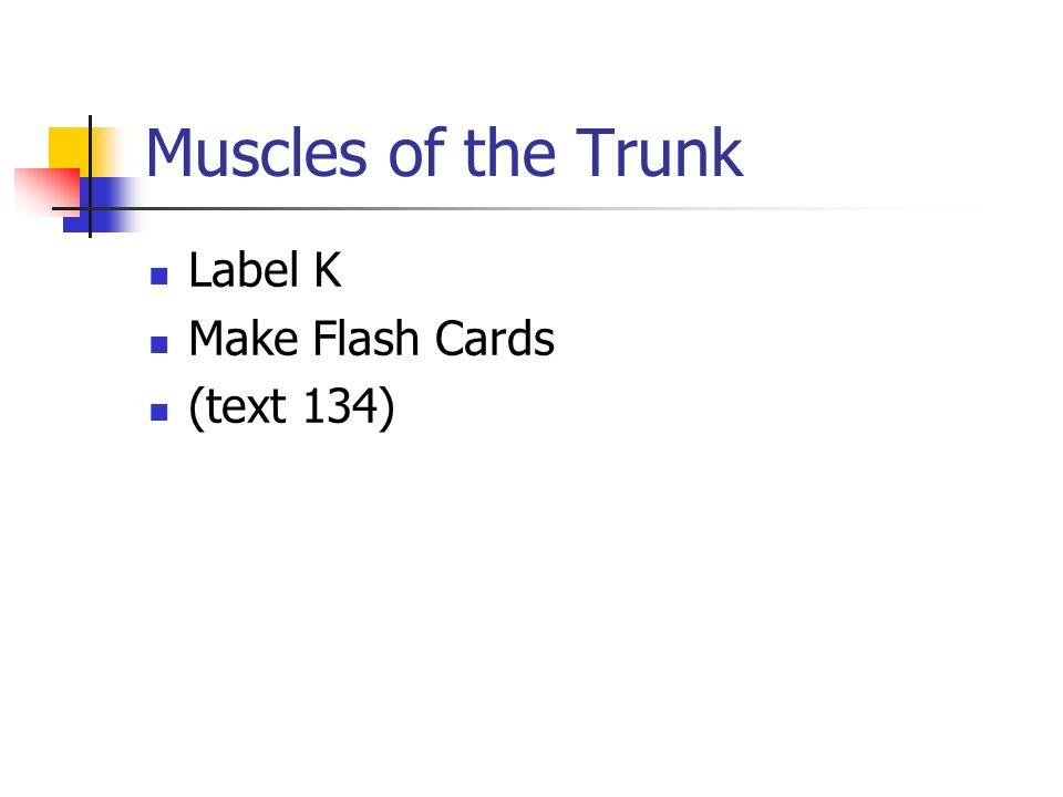 Label K Make Flash Cards (text 134)