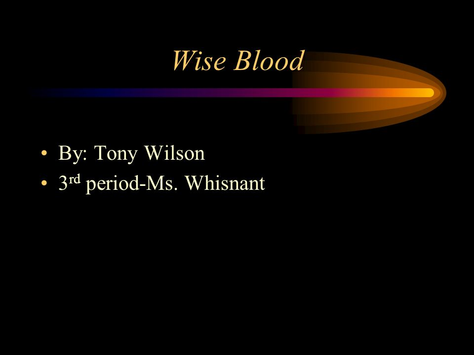About the Author The author of Wise Blood is Flannery OConnor.