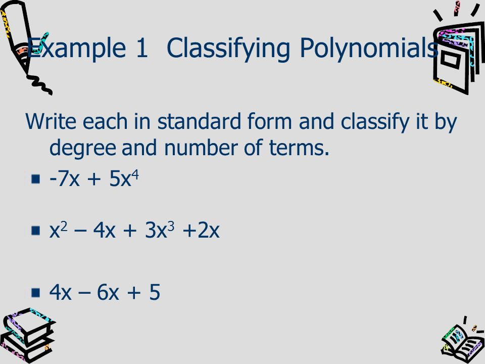 Example 1a Finding Rational Roots x 3 - 4x 2 - 2x + 8 = 0 Steps 1.List the possible rational roots of the leading coefficient and the constant.