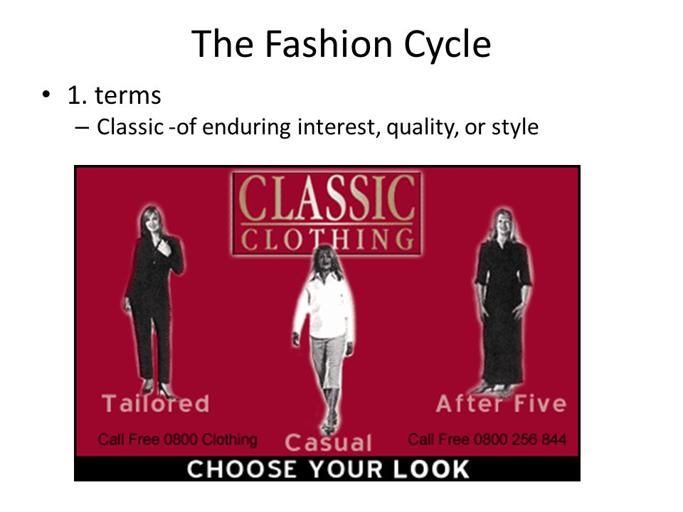 The Fashion Cycle 1.