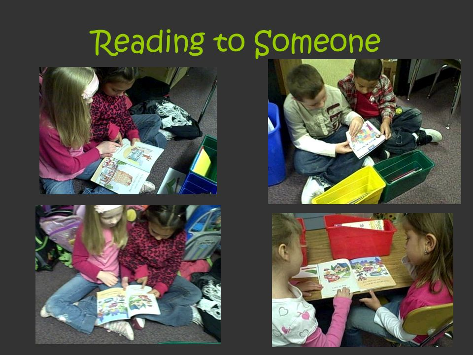 Reading to Someone