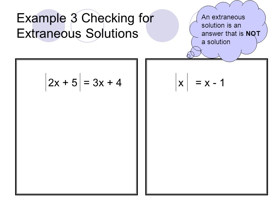 Example 2 Solving Multi-Step Absolute Value Equations 3 4w – 1 - 5 = 10 2 3x - 1 + 5 = 33