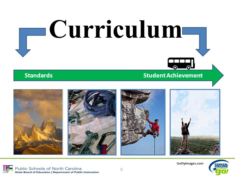 Curriculum 9 Standards Student Achievement GettyImages.com