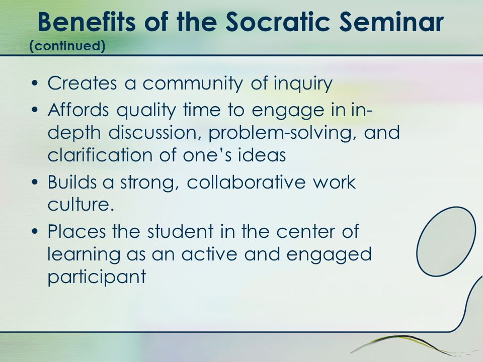 How should seminar participation be assessed.