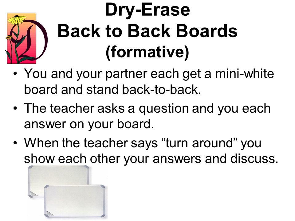 Card Trick (formative) Each student picks a playing card. When the teacher asks a question or gives a problem, discuss it with your partner. The teach