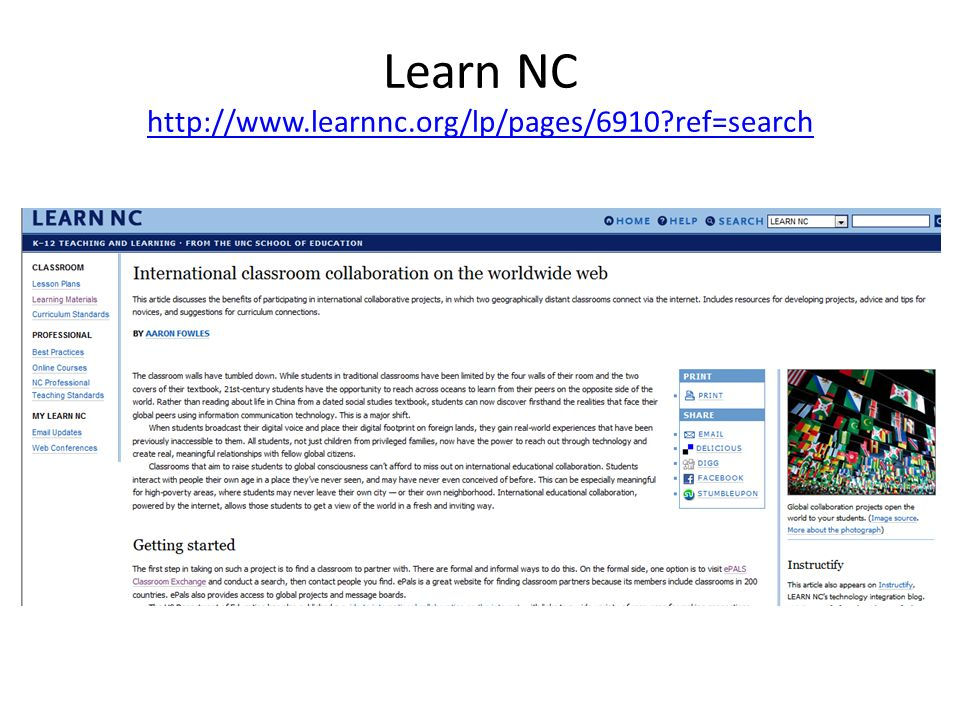 Learn NC http://www.learnnc.org/lp/pages/6910 ref=search http://www.learnnc.org/lp/pages/6910 ref=search