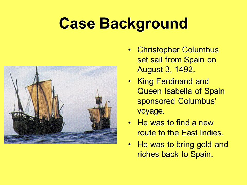 The Trial of Christopher Columbus