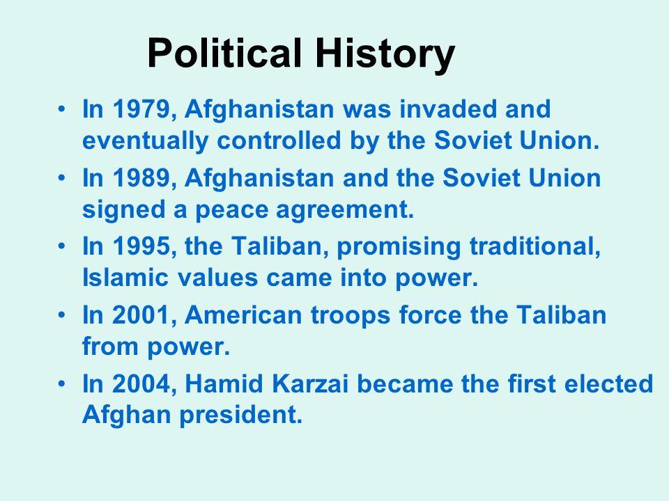 Capital: Kabul Area: 251,825 sq mi; slightly smaller than Texas Population: 31,056,997 (July 2006 estimate) 80% Sunni Muslim, 19% Shia Muslim Main eth
