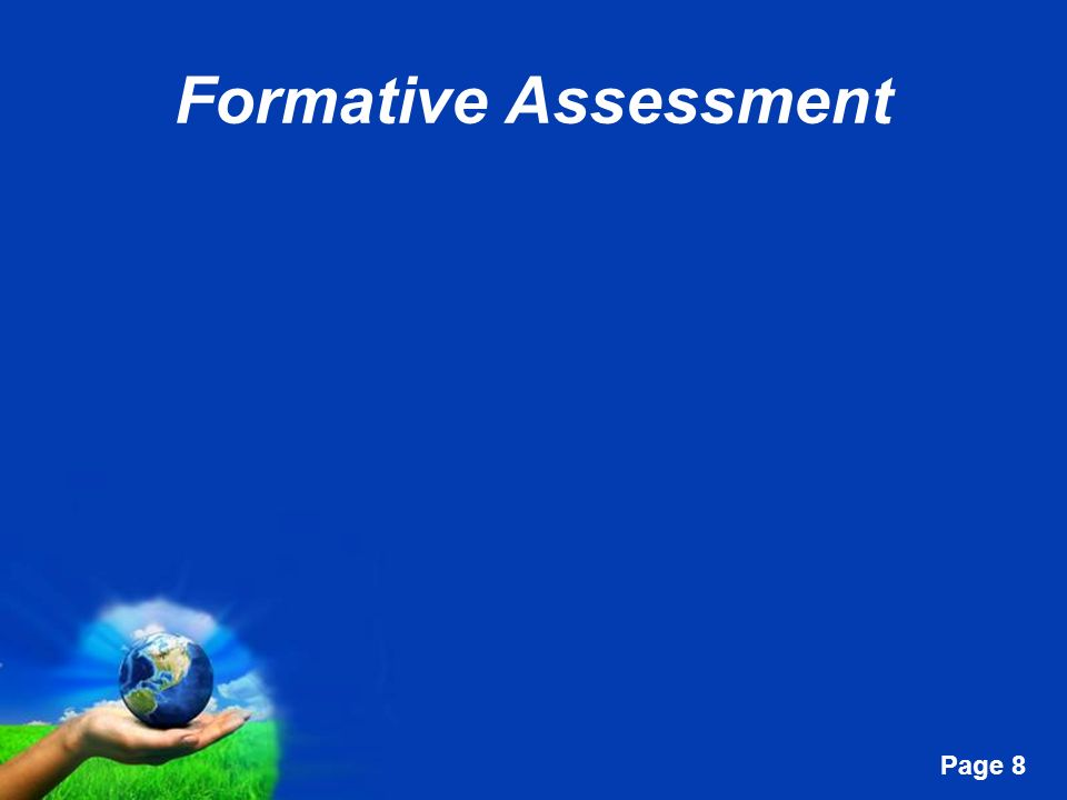 Free Powerpoint Templates Page 8 Formative Assessment