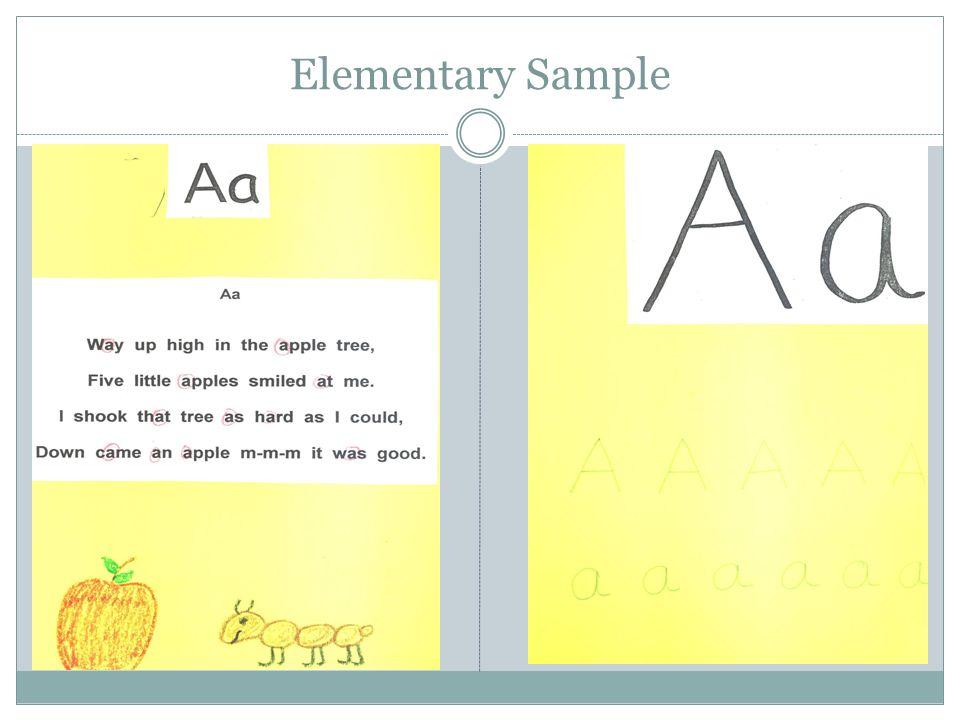 Elementary Sample