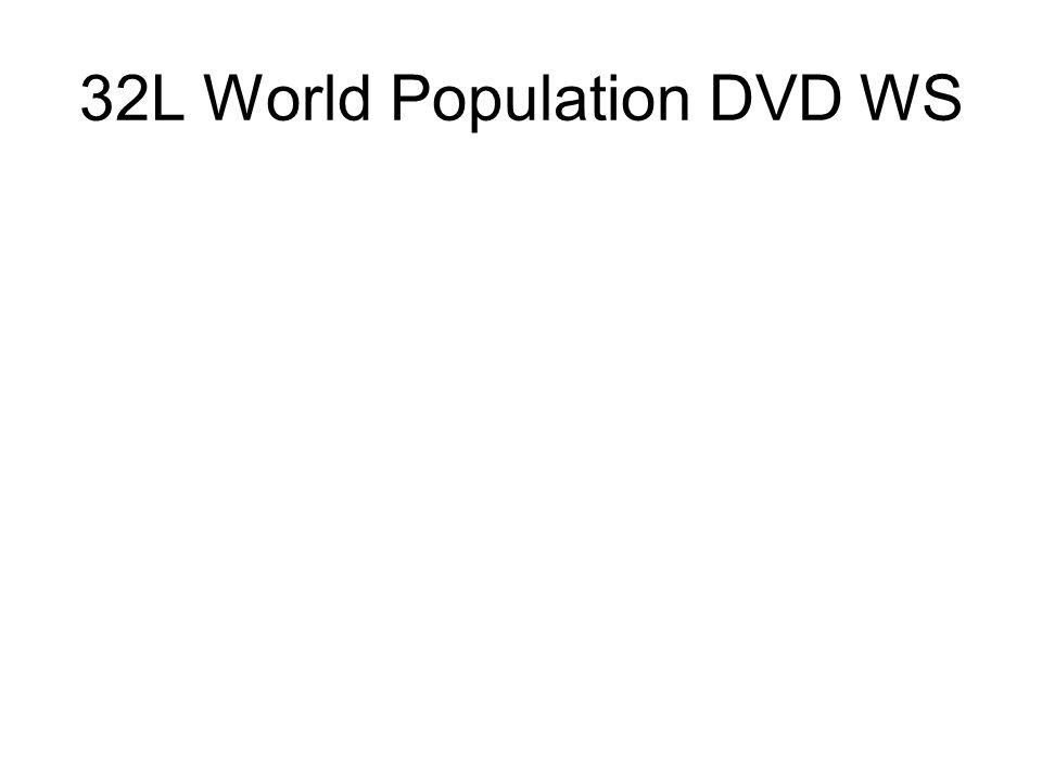 32L World Population DVD WS