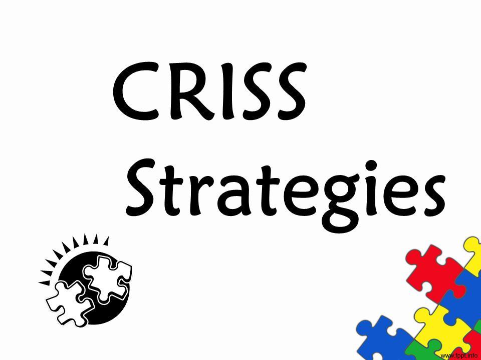 CRISS Strategies
