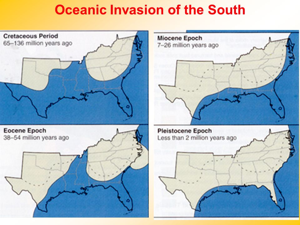 Oceanic Invasion of the South