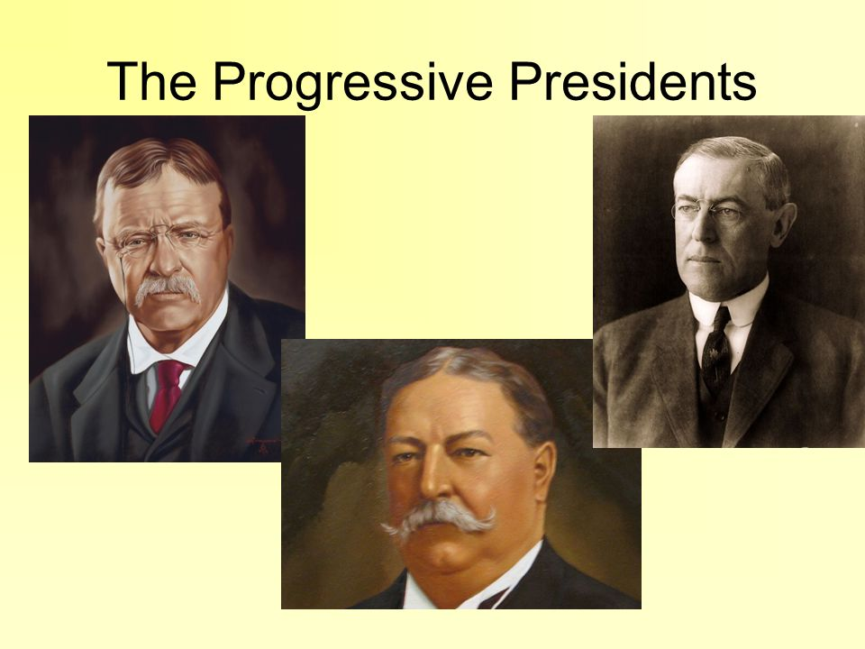 Problems facing Progressive Presidents Immigration: –TR s era Influx of immigrants from southern and eastern Europe.