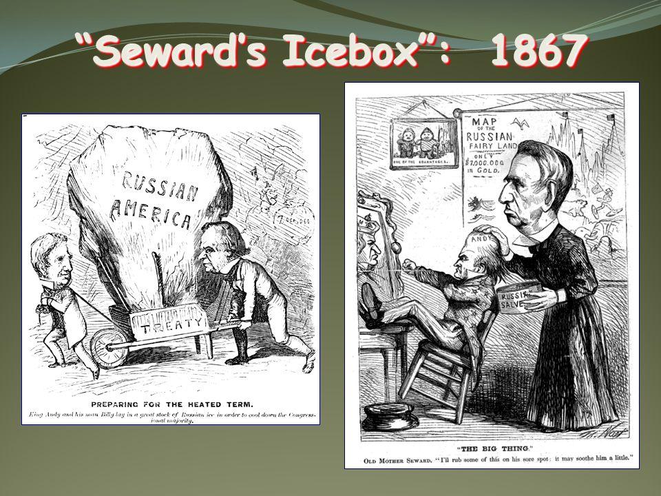 Sewards Icebox: 1867