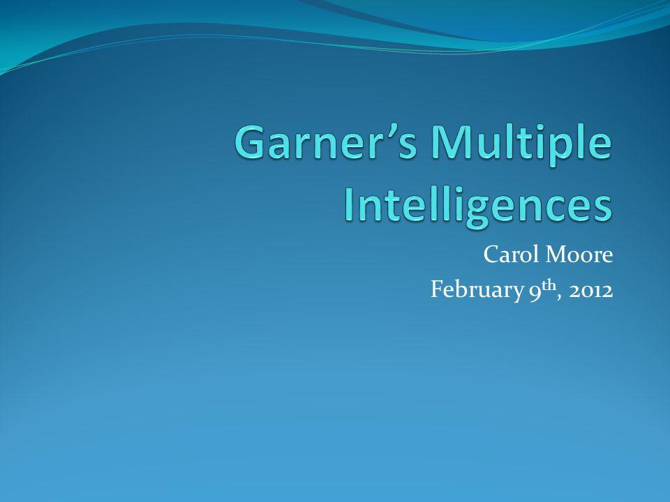 Carol Moore February 9 th, 2012