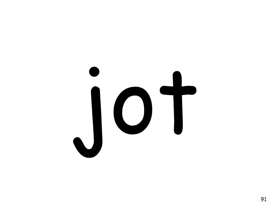 jot 91