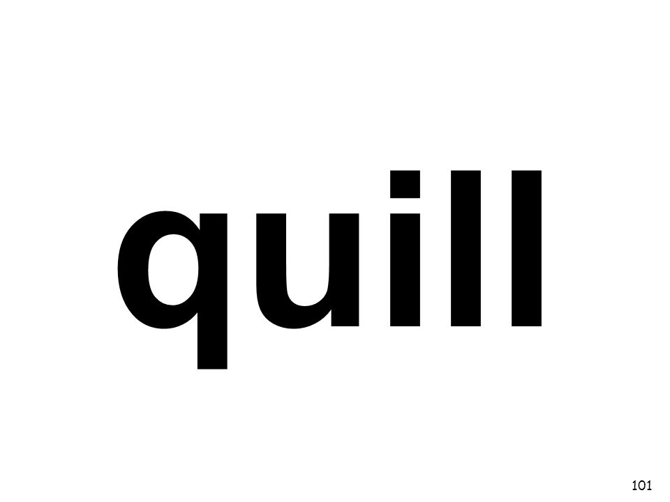 quill 101