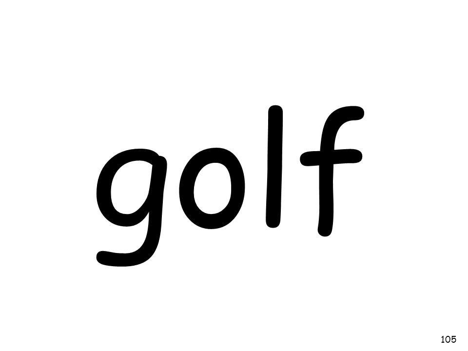 golf 105