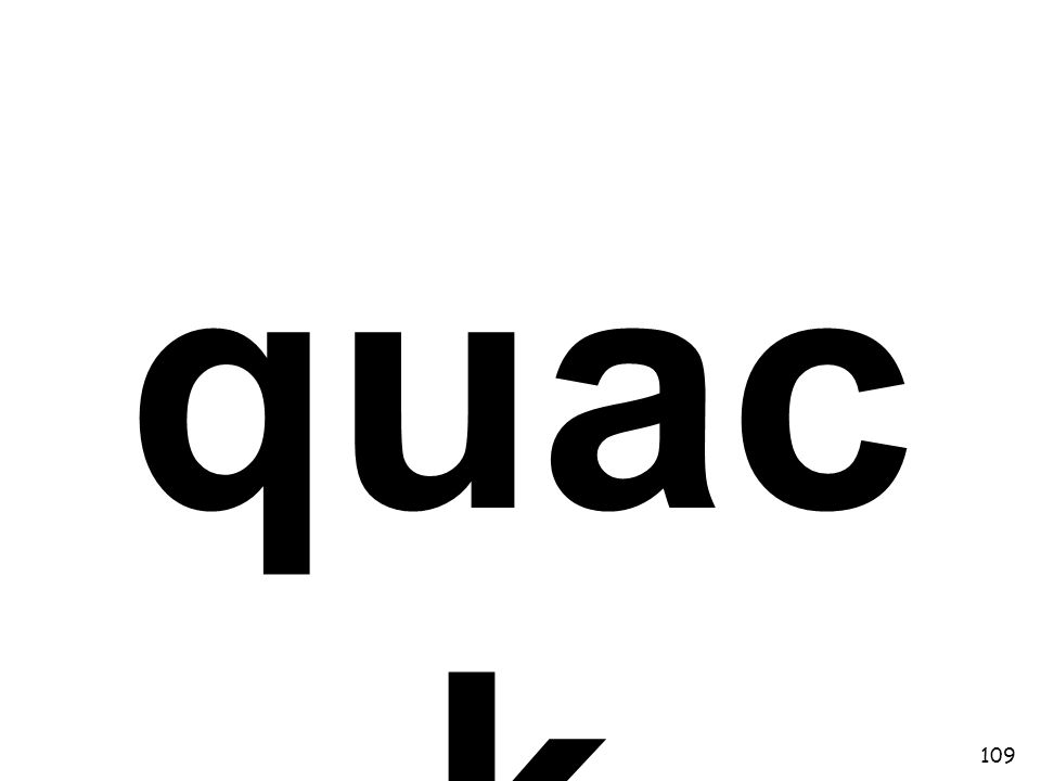 quac k 109